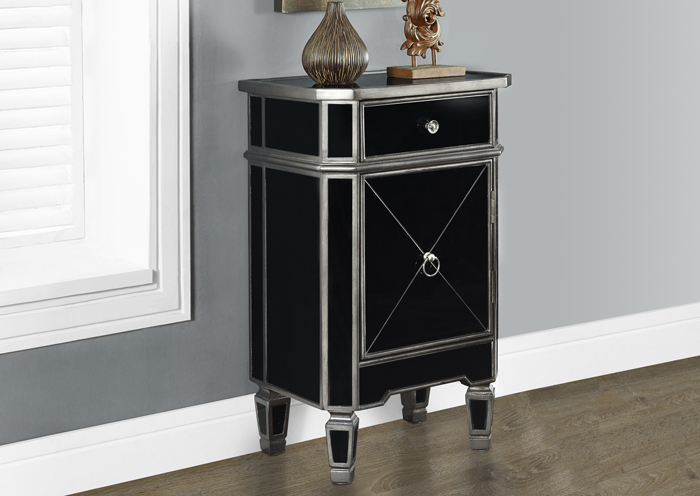 I3708 Mirrored Night Table