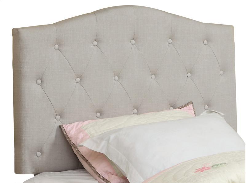 Grace Upholstered White Headboard