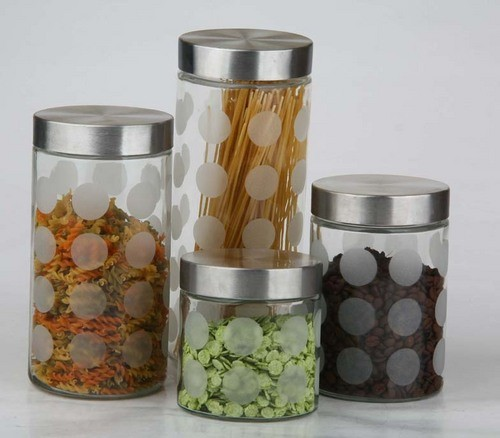 STA-6405 Food Canister 4pcs Set