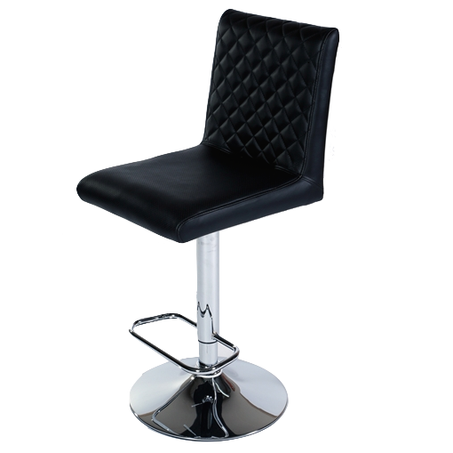 MDS-51-301 Cobra Leather Bar Stool