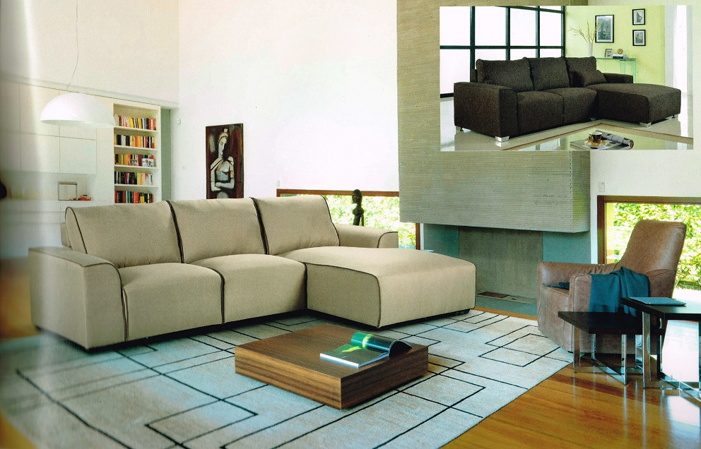 KW-1701 Fabric Sofa Sectional