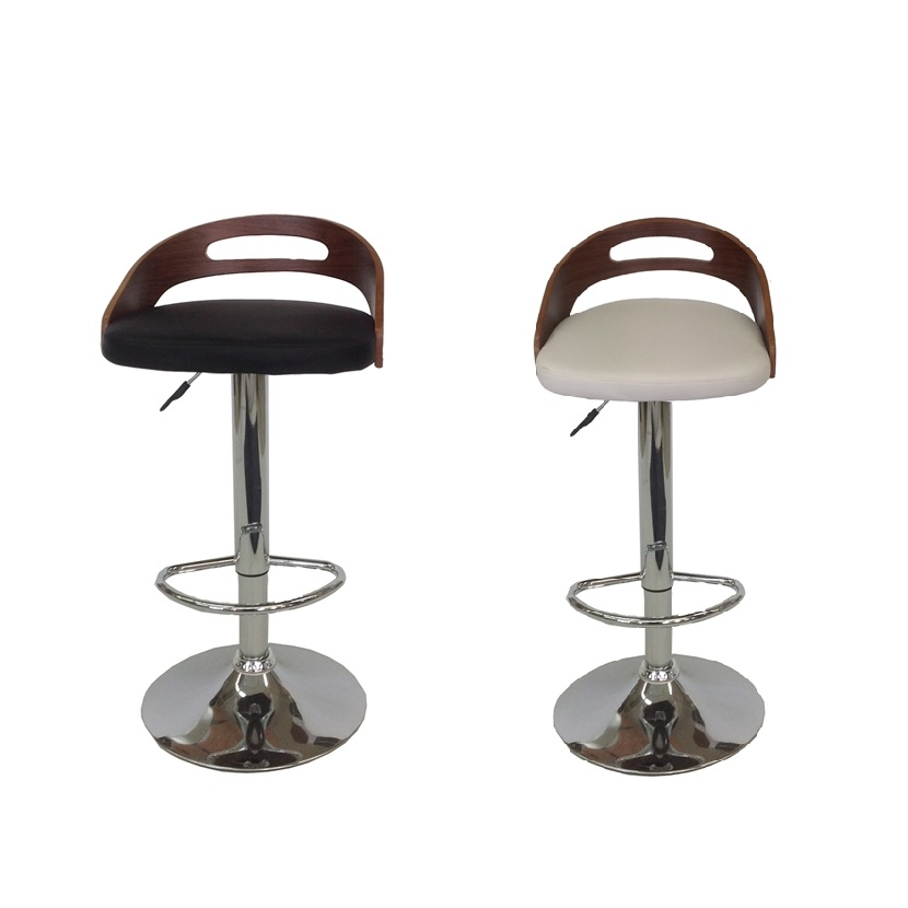MDS-51-052 Bucket Leather Bar Stool
