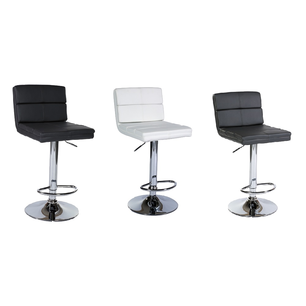 MDS-51-306 Dhai Leather Bar Stool