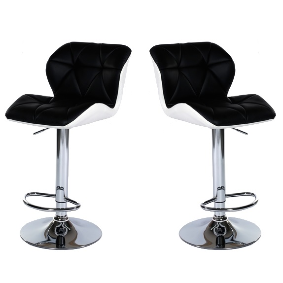 MDS-51-305 Diamond Leather Bar Stool