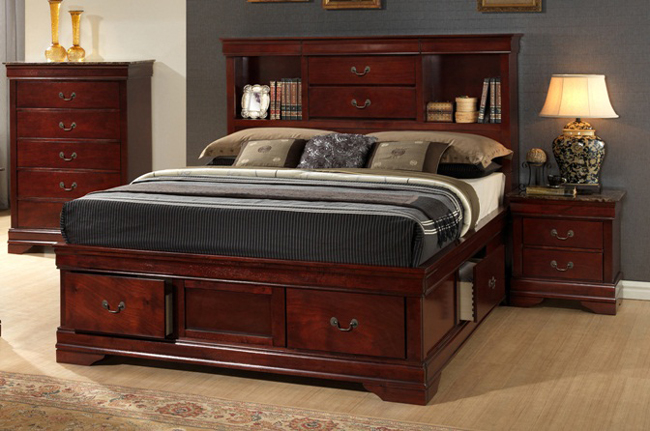 RIG-5935 Wooden Bed