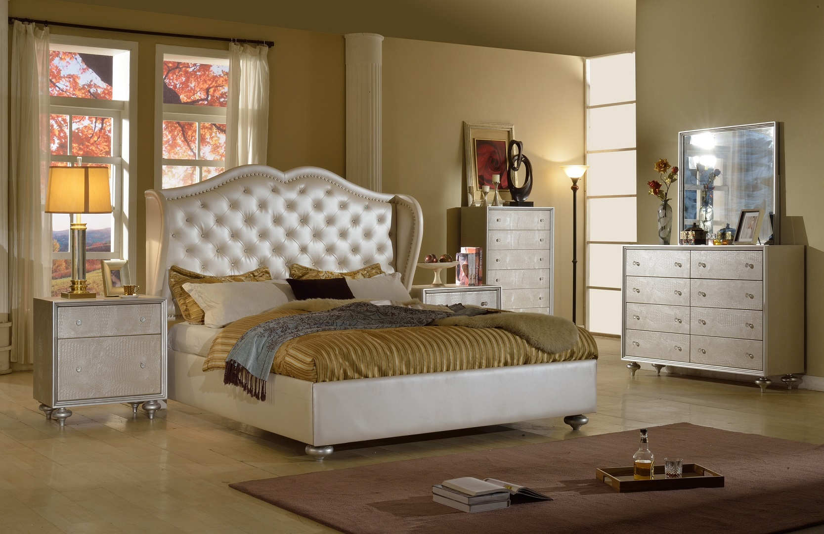 GL2846 Hollywood Bedroom Set