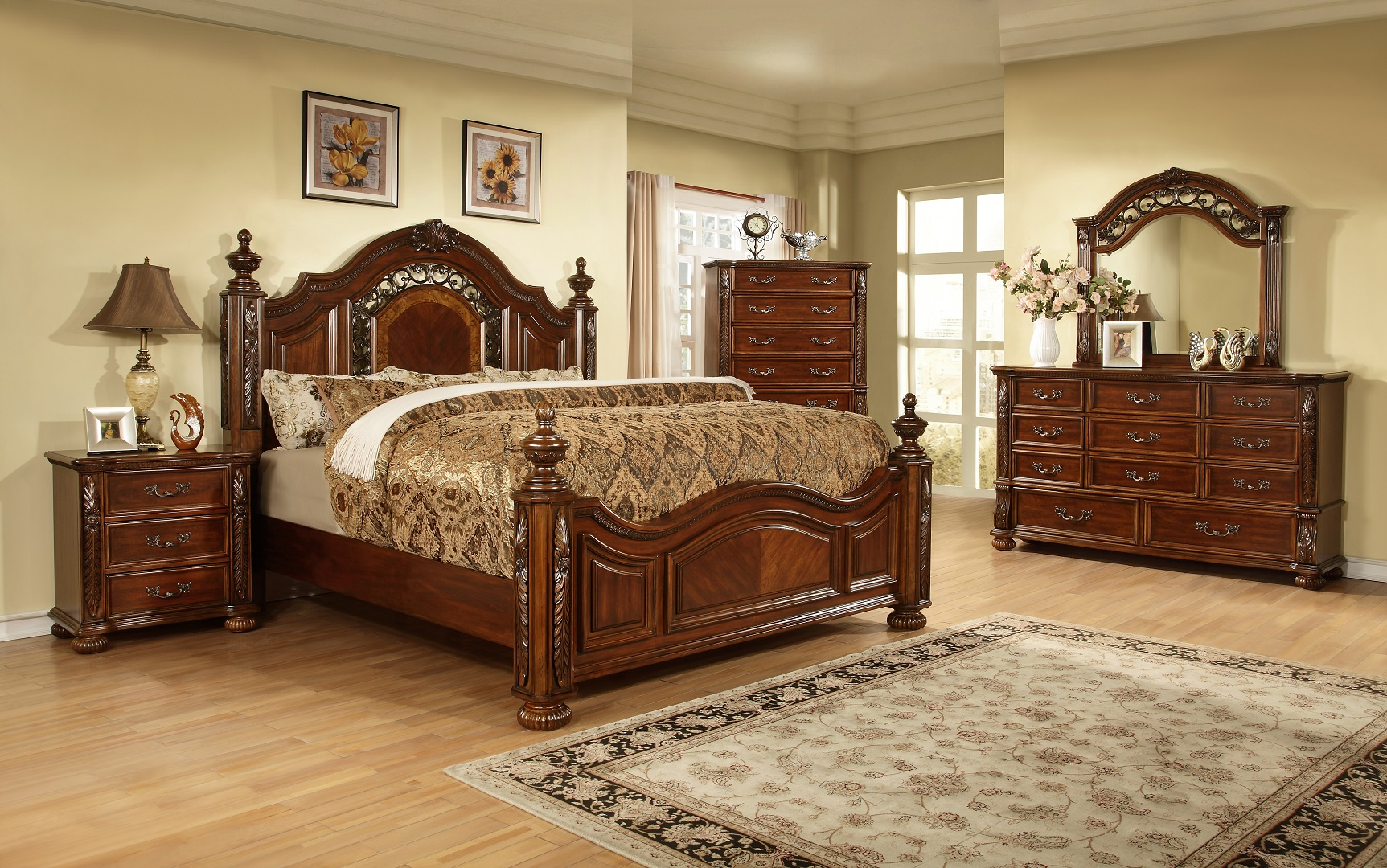 GL2902 Alamfi Bedroom Set