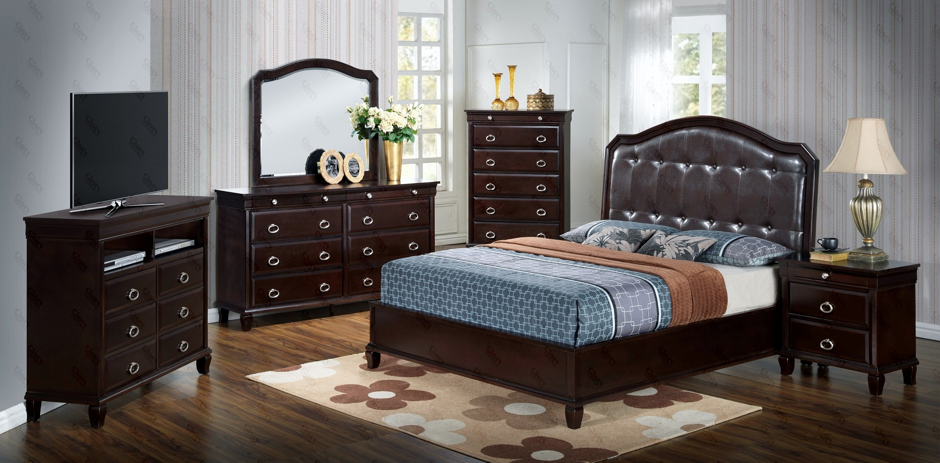 Alpha Bedroom Set