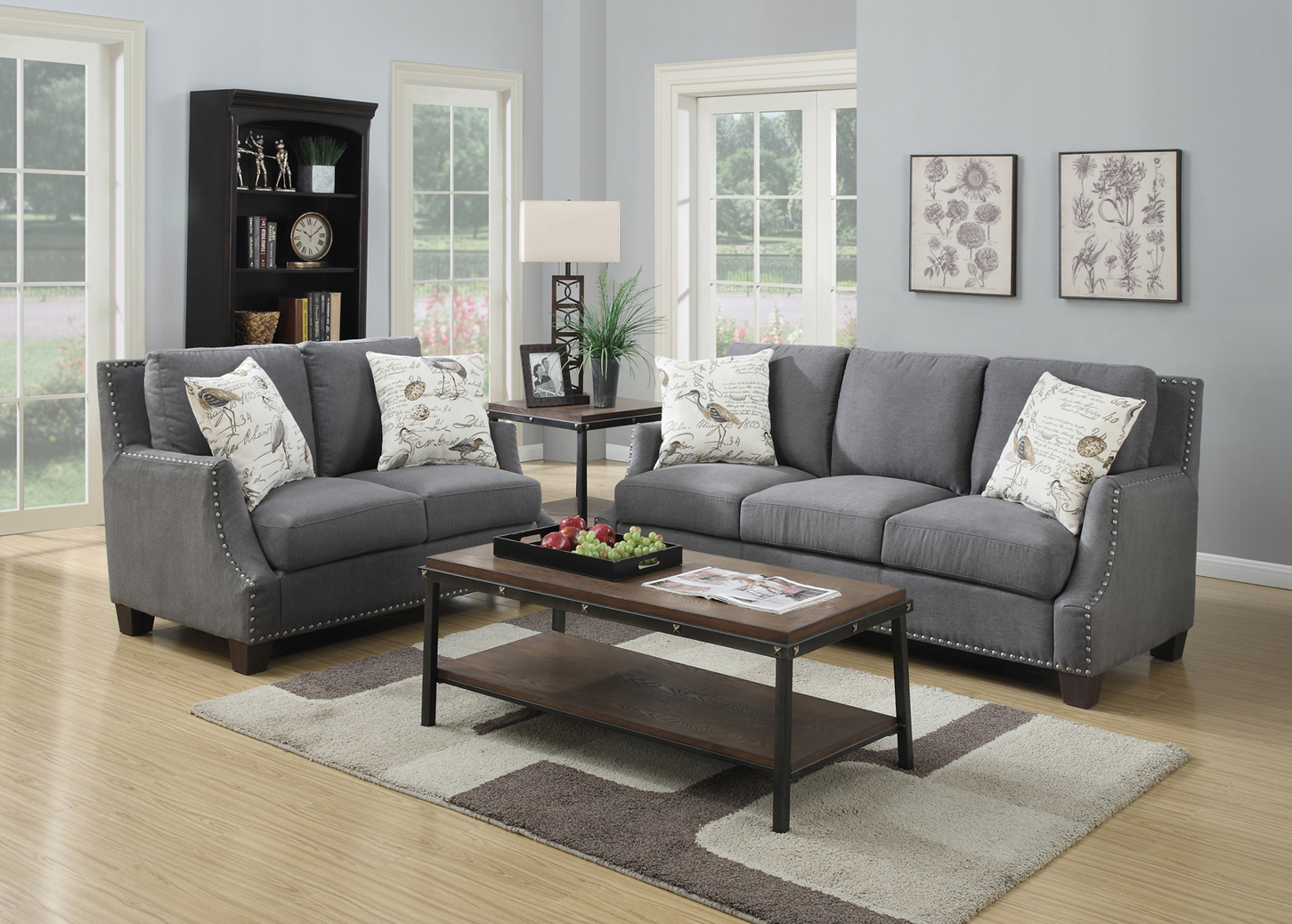 GL6629 August Sofa Set