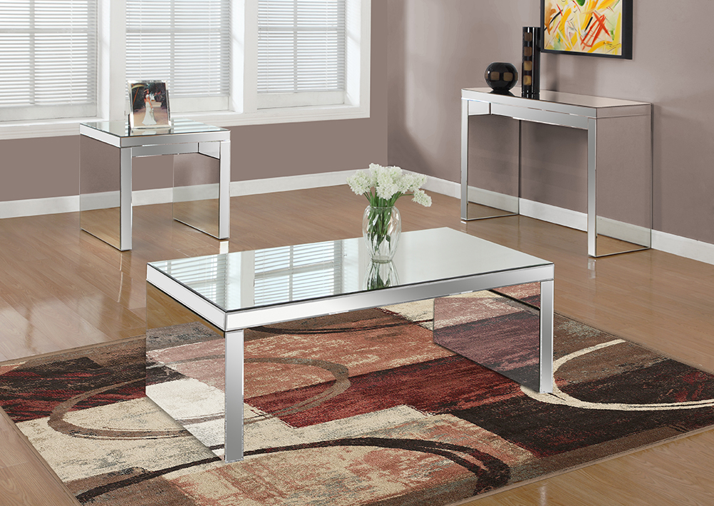 I-3715 Mirrored Coffee Table
