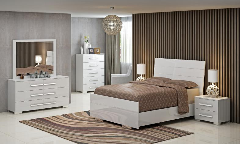 BEDROOM SET-MEG-301-W