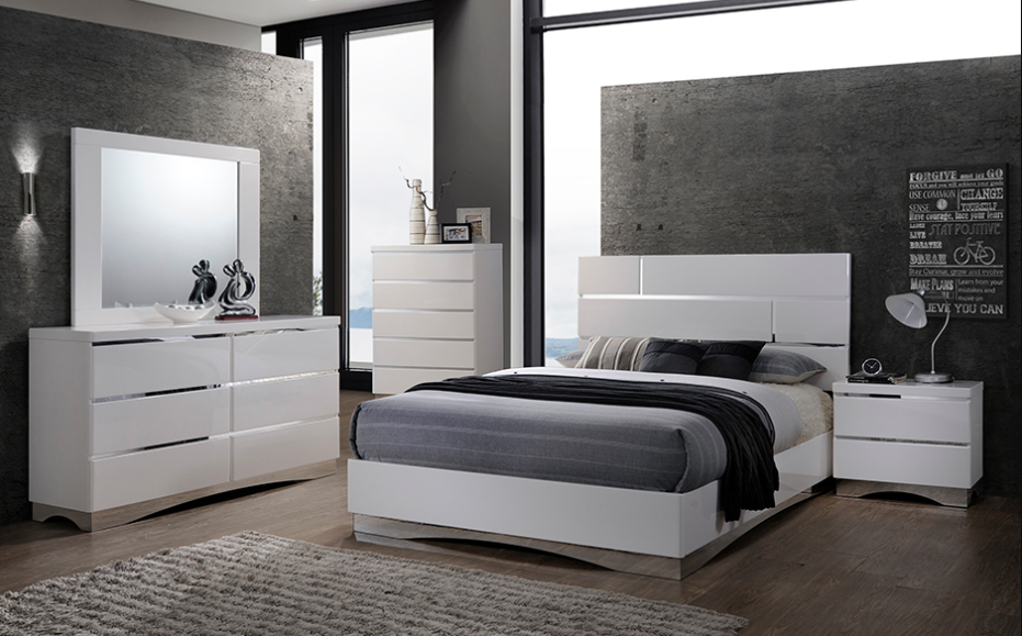 Stanton Grey Bedroom Set Furtado Furniture