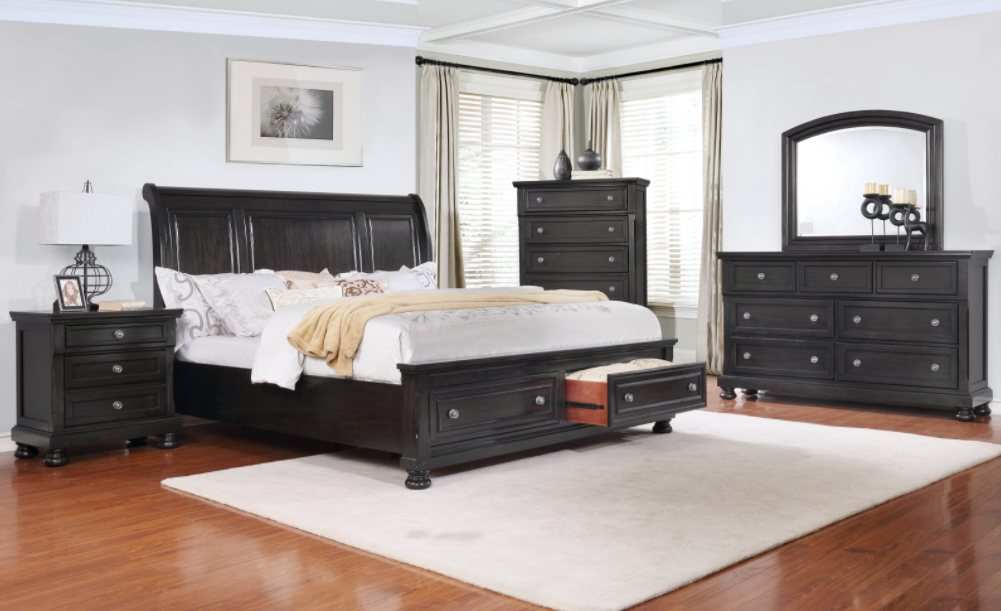Baltimore Grey Bedroom Set