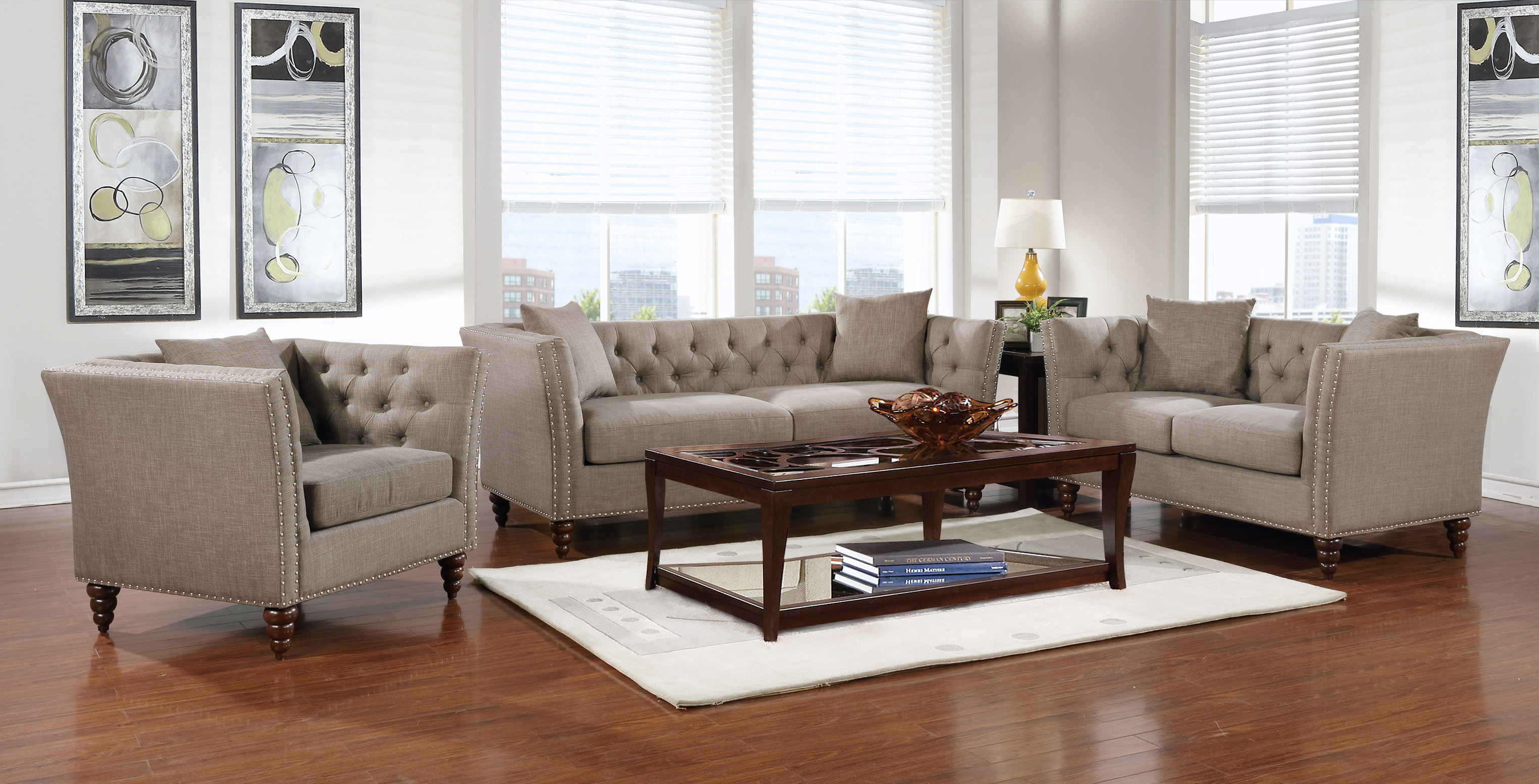 SofaSet-GL6463 ROCHESTER LIGHT