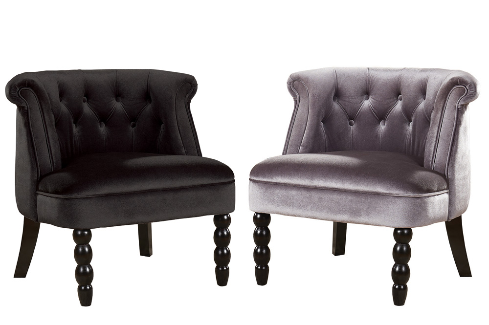 ACCENT CHAIR-T-428-BLACK