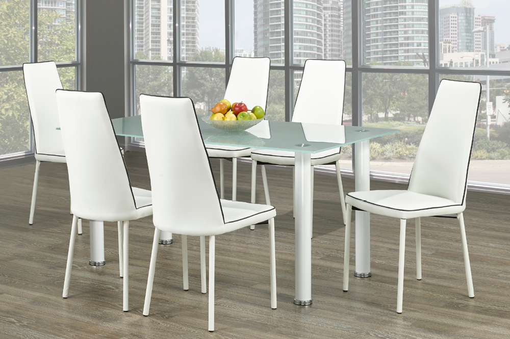 DINING TABLE-T-3425-White