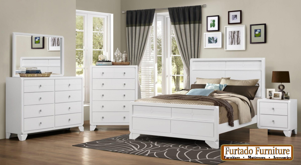 BEDROOM SETS-BG-ROSY