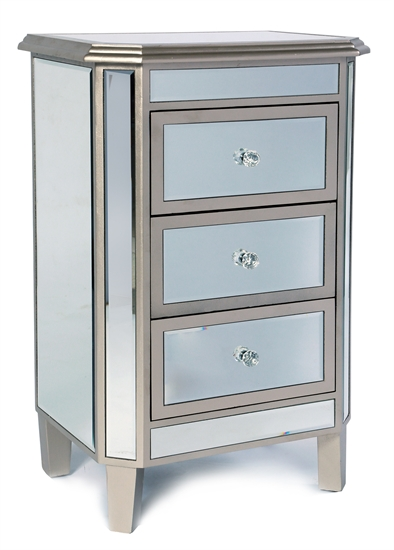 MIRRORED NIGHT TABLE-MDS-40-124