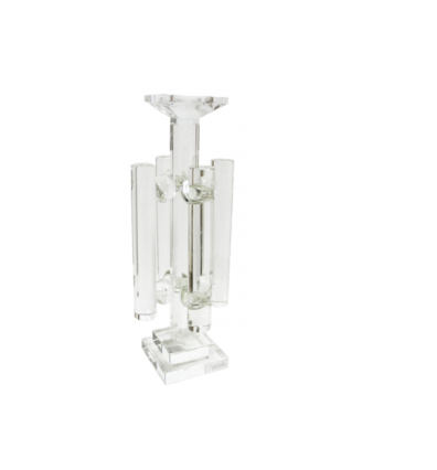 Small Crystal Candle Holder